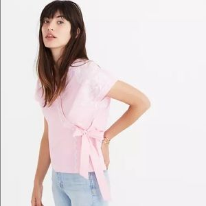 Like New Madewell Embroidered Top